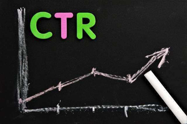 検索結果上でのCTR(クリック率)に大きな差が出る